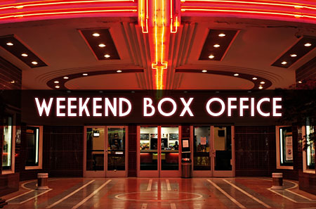 weekend box office - April 1 - 3